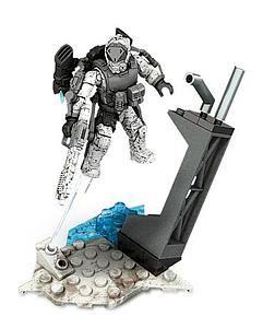 Mega Bloks Call of Duty Collector Series Jetpack Fighter