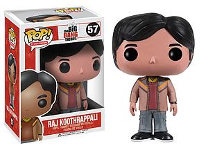 Pop! Television The Big Bang Theory Vinyl Figure Raj Koothrappali #57 (Vaulted)