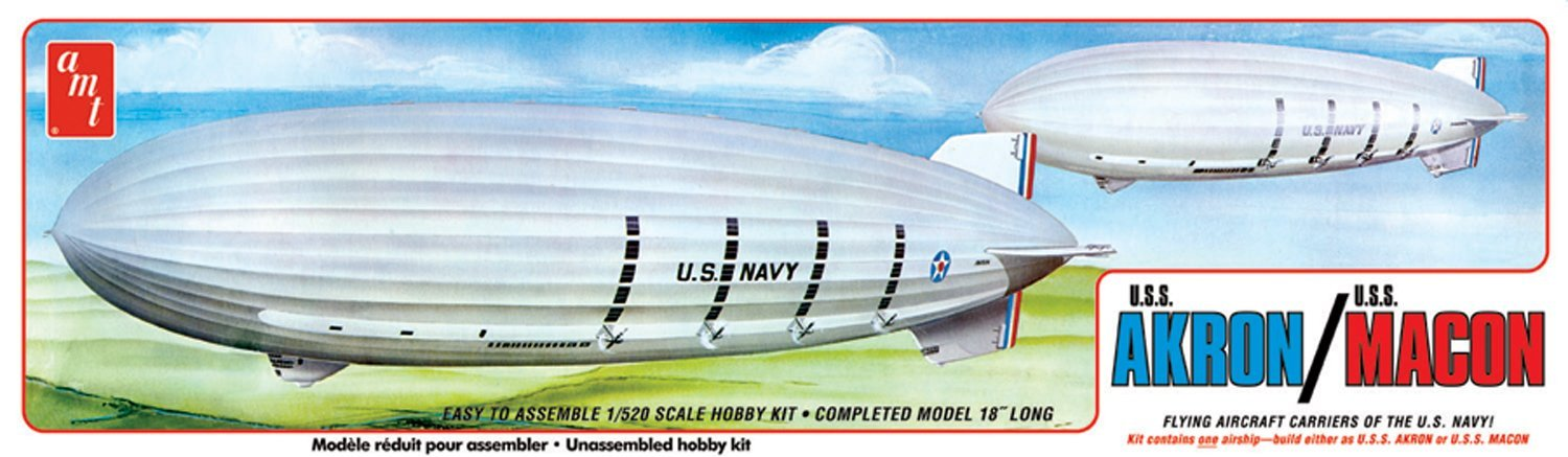 USS Akron / USS Macon Navy Blimp