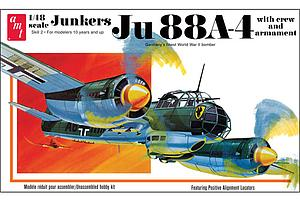 AMT 1:48 Scale Airplane Plastic Model Kit Junkers Ju 88A-4 (AMT933)