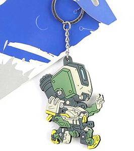 Overwatch Keychain Bastion (Rubber)