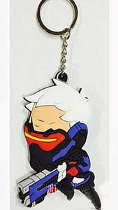 Overwatch Keychain Soldier:76 (Rubber)