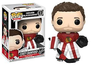 Pop! Hockey NHL Vinyl Figure Corey Crawford #17 (Chicago Blackhawks)