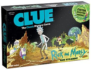 Clue: Rick & Morty - Back in Blackout