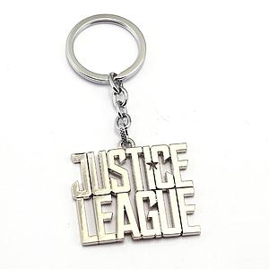 DC Comics Justice League Keychain Logo