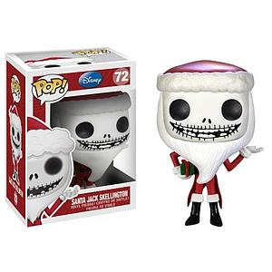 Pop! Disney The Nightmare Before Christmas Vinyl Figures Santa Jack Skellington #72