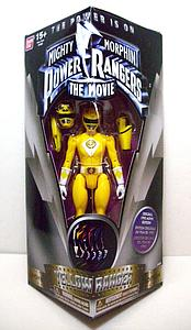 Mighty Morphin Power Rangers The Movie Yellow Ranger