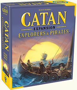 Catan: Explorers & Pirates Expansion (5th Edition) [Re-Packaged]