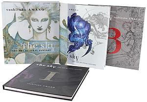 The Art of Final Fantasy Books 1-3 Box Set