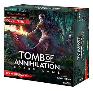 Dungeons & Dragons Tomb of Annihilation Board Game (Standard Edition)