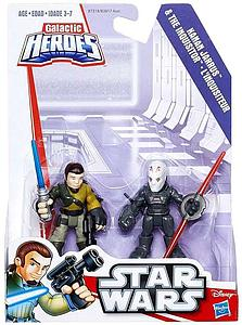 Star Wars Galactic Heroes 2-Pack Kanan Jarrus & The Inquisitor Mini Figure