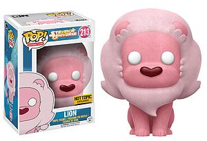 Pop! Animation Steven Universe Vinyl Figure Lion (Flocked) #213 Hot Topic Exclusive