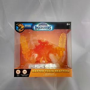 Skylanders Imaginators Sensei Master Chain Reaction Crystal Orange (Super Rare)