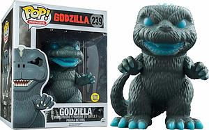 "Pop! Movies Godzilla Vinyl Figure 6"" Godzilla #239 (Glows in the Dark) PX Previews Exclusive"