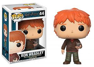 Pop! Harry Potter Vinyl Figure Ron with Scabbers (Cancelled)