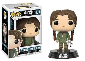 Pop! Star Wars Rogue One: A Star Wars Story Vinyl Bobble-Head Young Jyn Erso #185