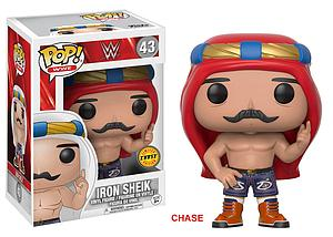 Pop! WWE Vinyl Figure Old School Iron Sheik #43 (Chase)