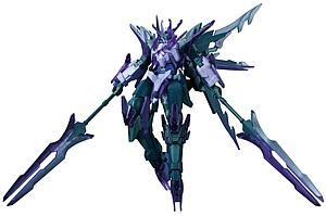 Gundam High Grade Build Fighters 1/144 Scale Model Kit: #050 Transient Gundam Glacier