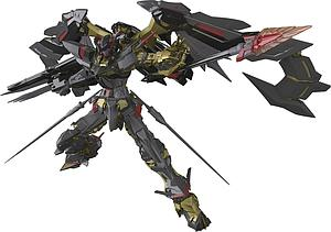 Gundam Real Grade 1/144 Scale Model Kit: #24 Gundam Astray Gold Frame Amatsu Mina