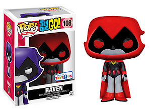 Pop! Television Teen Titans Vinyl Figure Raven (Red) #108 Toys R Us Exclusive