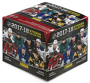 2017-2018 NHL Hockey Sticker Box