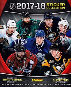 2017-2018 NHL Hockey Sticker Album