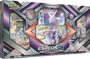 Pokemon Trading Card Game: Espeon-GX & Umbreon-GX Box