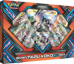 Pokemon Trading Card Game: Shiny Tapu Koko-GX Box