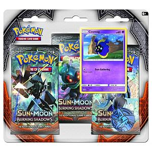 Pokemon Trading Card Game: Sun & Moon Burning Shadows 3-Pack Blister