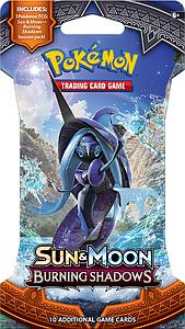 Pokemon Trading Card Game: Sun & Moon Burning Shadows Blisters