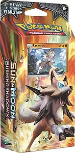 Pokemon Trading Card Game: Sun & Moon Burning Shadows Theme Deck A