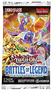 YuGiOh Trading Card Game: Battles of Legend Light's Revenge Booster Pack