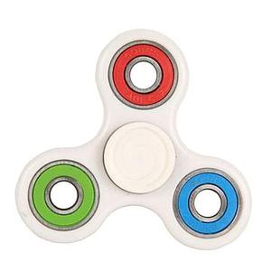 Fidget Spinner (White) Color Rings
