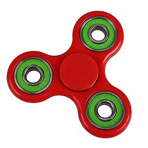 Fidget Spinner (Red) Colors Rings