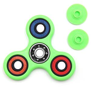 Fidget Spinner (Green) Color Rings