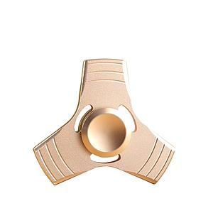 Fidget Spinner (Gold) Metal