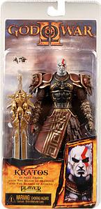 God of War II 6 Inch: Ares Armor Kratos (Closed Mouth)