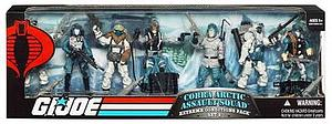 G.I. Joe Cobra Artic Assault Squad Extreme Conditions Pack Set 2 7-Pack Action Figure Exclusive