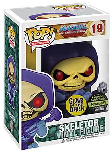 Pop! Television Masters of the Universe Vinyl Figure Skeletor (Glows in the Dark) #19 Gemini Exclusive (Only 480 Made)