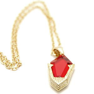Legend of Zelda Necklace Goron Ruby