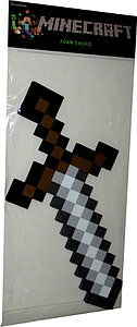 Thinkgeek Minecraft Foam Toy: Sword