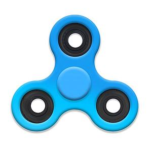 Fidget Spinner (Light Blue)