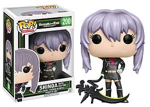 Pop! Animation Seraph of the End Vinyl Figure Shinoa with Scythe #200 GameStop Exclusive
