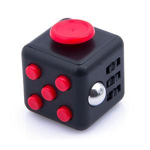 Fidget Cube Red/Black