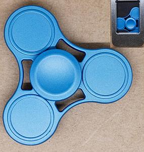 Fidget Spinner (Blue) Metal