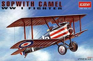 Academy 1:72 Sopwith Camel WW I Fighter (ACA12447)