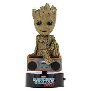 Solar Powered Body Knocker Groot