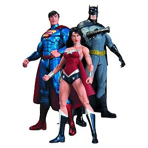 DC Direct The New 52 Justice League 6 Inch 3-Packs: Trinity War