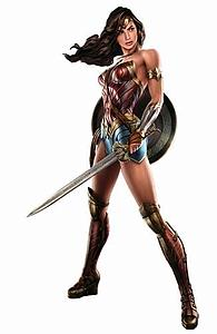 Wonder Woman Battle Ready