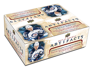 Upper Deck NHL 2017-18 Artifacts Hockey Retail Booster Box